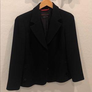 Nina McLemore black jacket size 10